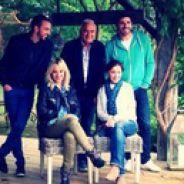 Alizée prend du bon temps à la campagne pour TF1