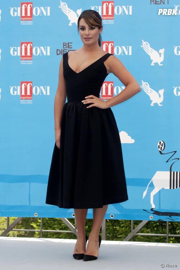 Lea Michele au Festival Giffoni en Italie le dimanche 20 juillet 2014
