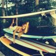 Beyoncé sexy sur des planches de surf