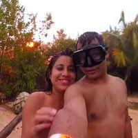 [VIDEO] Un couple manque de se faire foudroyer... en plein selfie