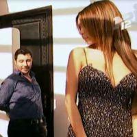 Nabilla Benattia : robe de fiançailles sexy et décolletée pour la bimbo
