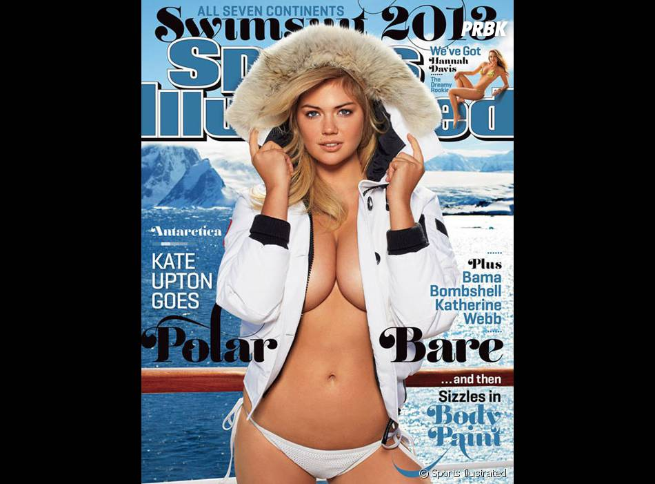 Kate Upton : sexy en couverture de Sports Ilustrated