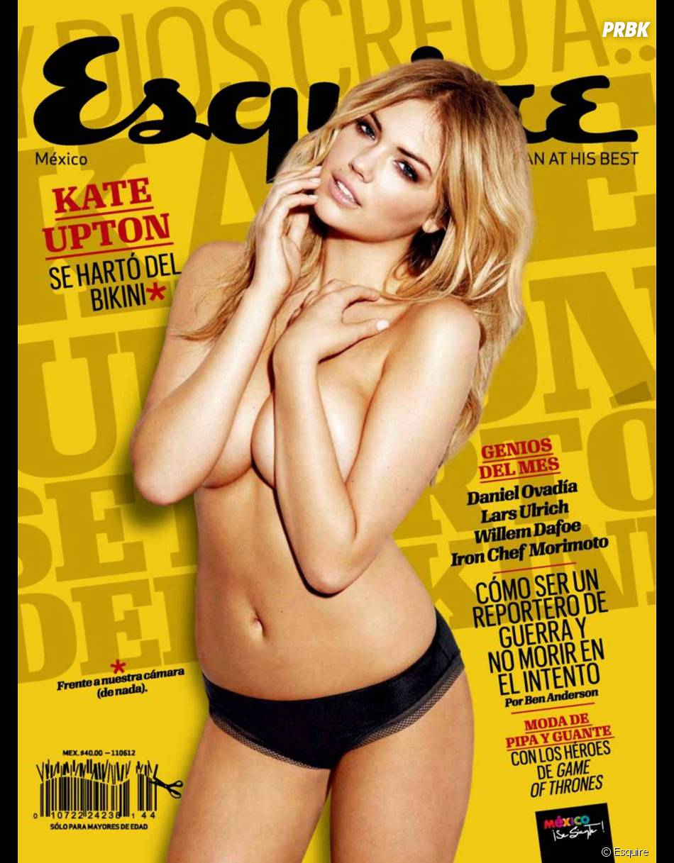 Kate Upton topless pour Esquire