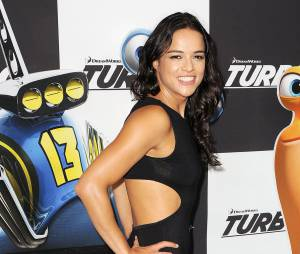 Michelle Rodriguez sexy à l'avant-première de Turbo