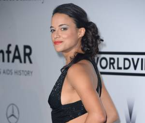 Michelle Rodriguez sensuelle au gala amfAR 2014 au Cap d'Antibes