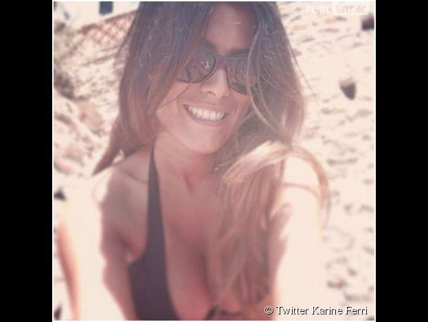 Karine Ferri élue animatrice la plus sexy du PAF dans un sondage de Télé Loisirs