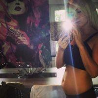 Stéphanie Clerbois : enceinte, elle fait sa pub dans Secret Story 8