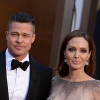 Angelina Jolie et Brad Pitt : le mariage, enfin ! Le couple marié en France