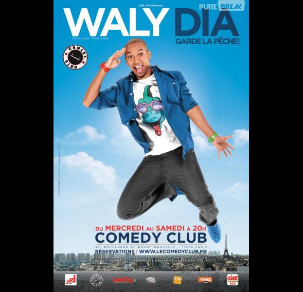Waly Dia : nouvelle star du stand-up
