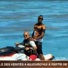 L'île des vérités 4 : Jessy Matador débarque... en jet-ski