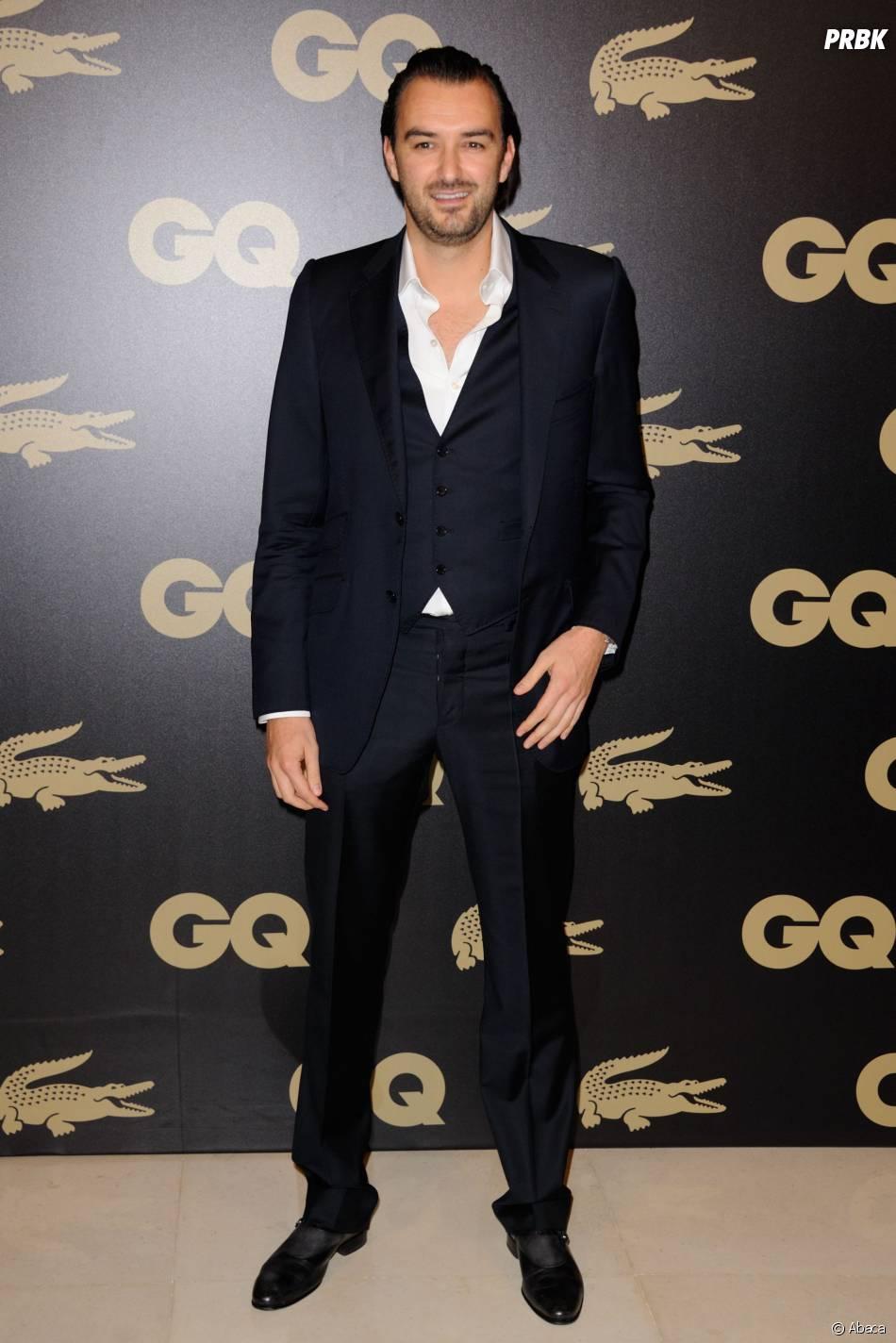 Cyril Lignac au GQ Men of the Year, le 18 janvier 2012