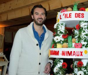Cyril Lignac au Festival de l'Alpe d'Huez, le 17 janvier 2014