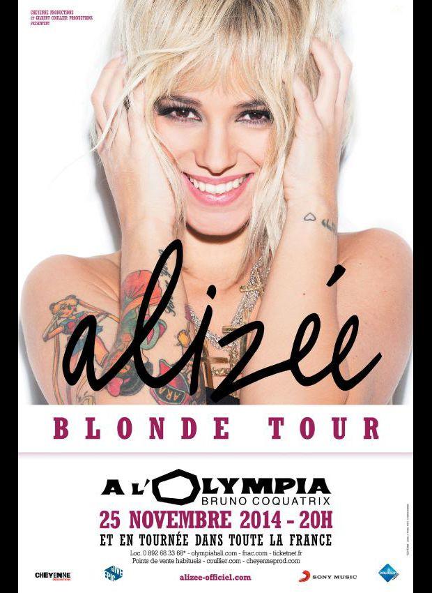 Alizée : sa tournée est annulée