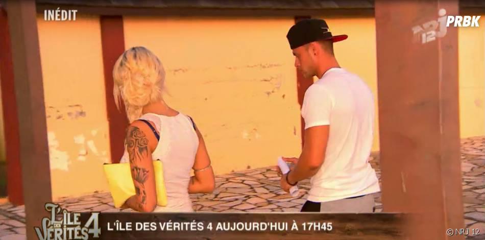 L'île des vérités 4 : Stan confie à Aurélie Dotremont qu'il veut rompre avec Céline