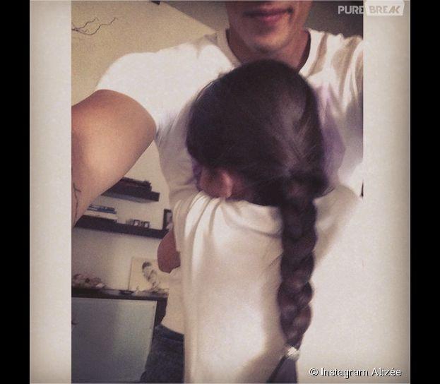 Grégoire Lyonnet très proche de la fille d'Alizée dans une photo postée sur Instagram