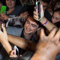Daniel Radcliffe proche de ses fans à Paris pour l'avant-première de Horns
