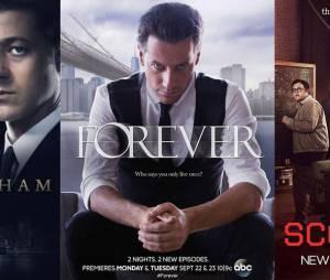 Nouveautés séries du 22 septembre 2014 : Gotham, Forever et Scorpion
