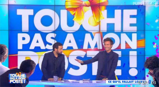 Cyril Hanouna : la surprise de Bertrand Chameroy pour son anniversaire dans Touche pas à mon poste le 23 septembre 2014