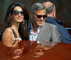 George Clooney et Amal Alamuddin : mariage à Venise le 27 septembre 2014