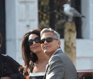 George Clooney et Amal Alamuddin : les heureux mariés