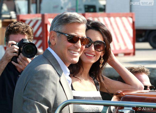 George Clooney et Amal Alamuddin sont mariés