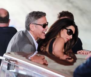 George Clooney et Amal Alamuddin se sont dit oui à Venise