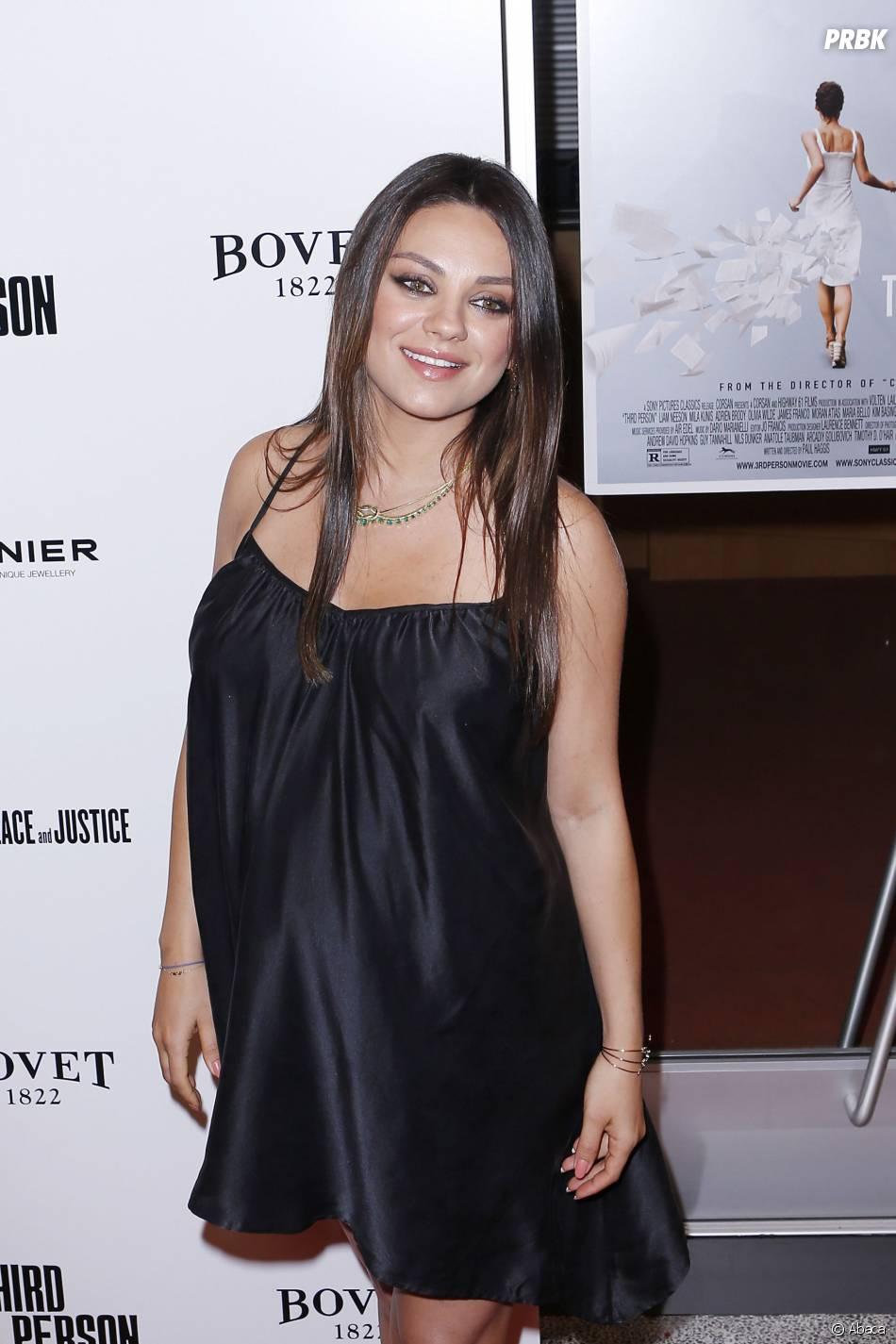 Mila Kunis maman d'une petite fille prénommée Wyatt Isabelle