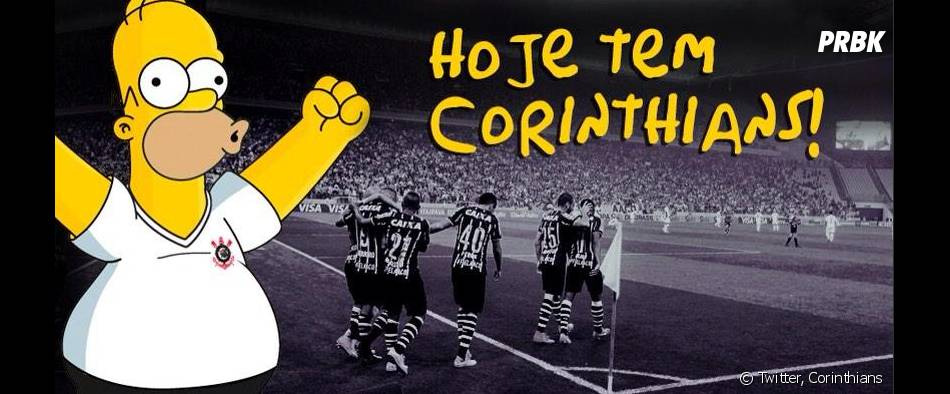 Les Simpson : Homer soutient les Corinthians