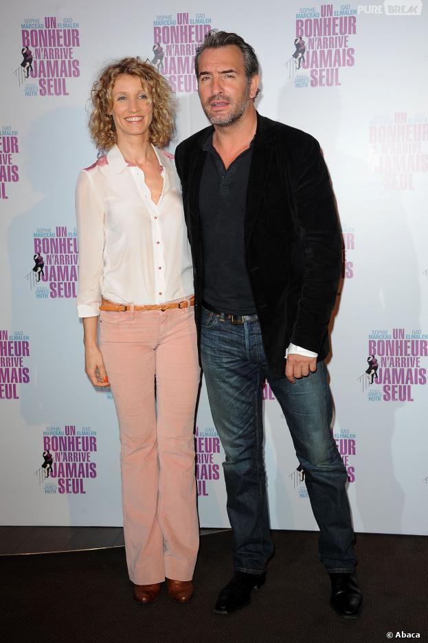 Alexandra lamy jean dujardin prenait beaucoup de place for Jean dujardin en couple