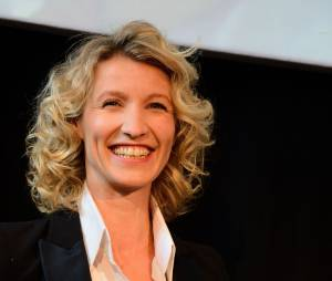 Alexandra Lamy a parlé de sa rupture avec Jean Dujardin sur Europe 1, le 8 octobre 2014