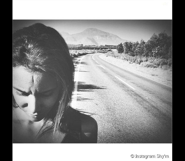 Shy'm : ambiance désertique sur le tournage de son clip La malice en octobre 2014