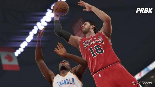NBA 2K15 : une simulation exigente