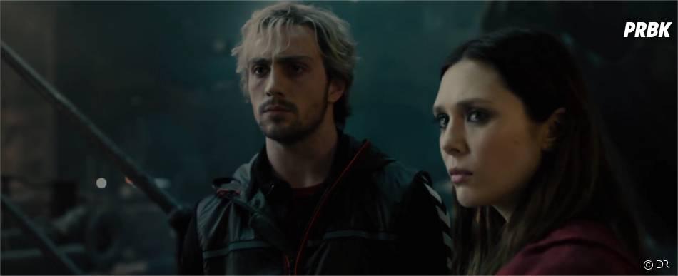 Avengers 2 : Elizabeth Olsen et Aaron Taylor-Johnson dans la première bande-annonce