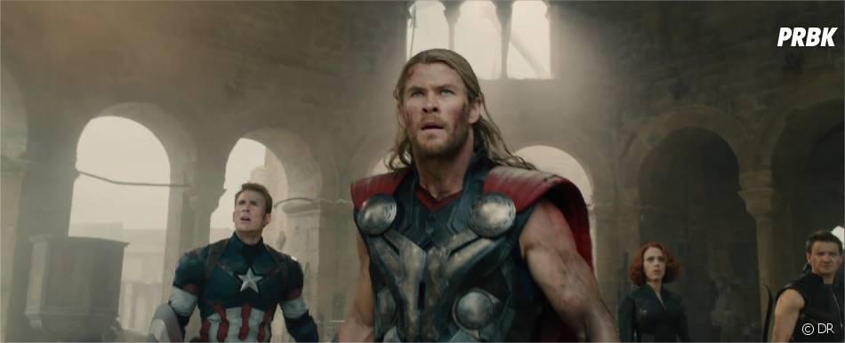 Avengers 2 : Chris Evans (Captain America) et Chris Hemsworth (Thor) dans la première bande-annonce