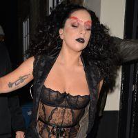 Lady Gaga flippante et transparente : la diva possédée à Londres