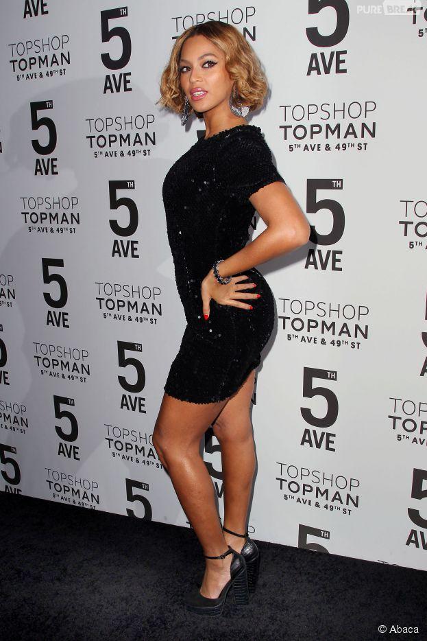 Beyoncé magnifique à l'inauguration d'une nouvelle boutique Topshop à New York, le 4 novembre 2014