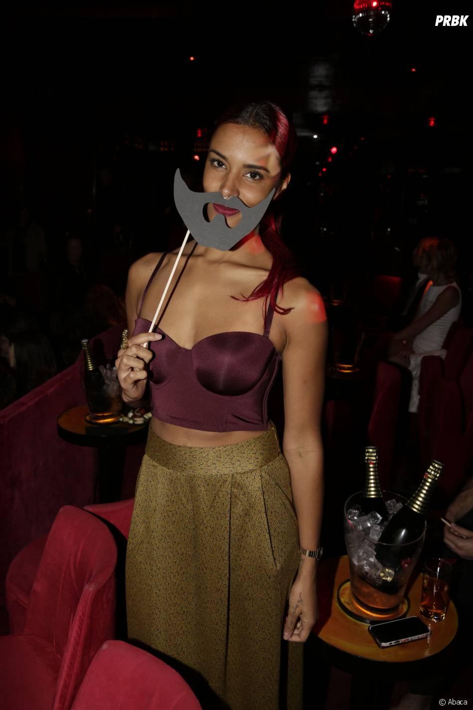 Concert de Conchitat Wurst dimanche 9 novembre 2014 au Crazy Horse à Paris : Shy'm, femme à barbe
