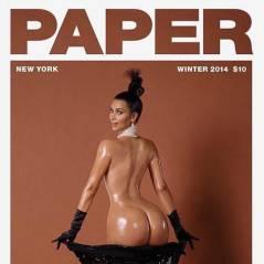 Kim Kardashian complètement nue : gros plan sur ses fesses en Une de Paper