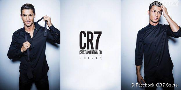 Cristiano Ronaldo : CR7 vient de lancer sa nouvelle marque de chemises