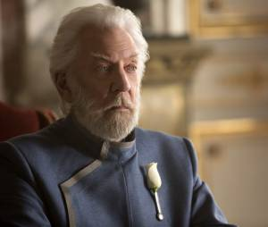 Hunger Games 3 : Donald Sutherland sur une photo