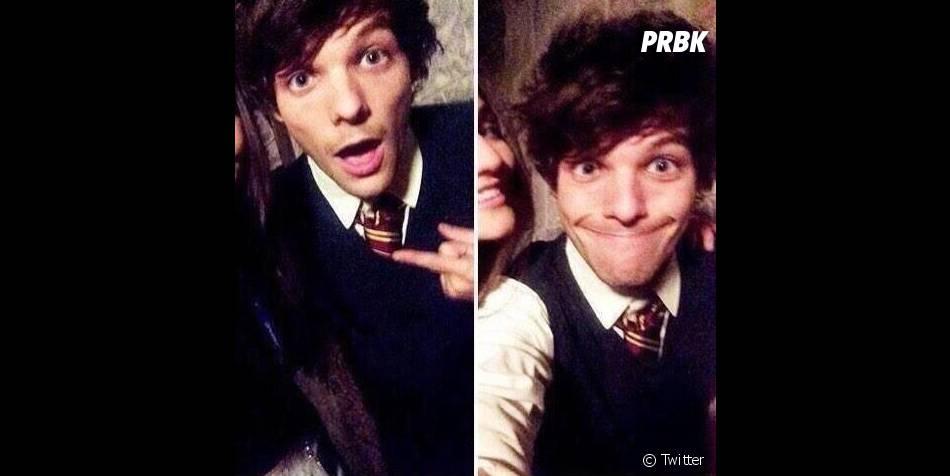 Louis Tomlinson : le One Direction déguisé en élève de Gryffondor