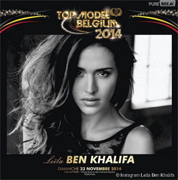 Leila Ben Khalifa intègre le jury de Top Model Belgium à la place de Nabilla Benattia