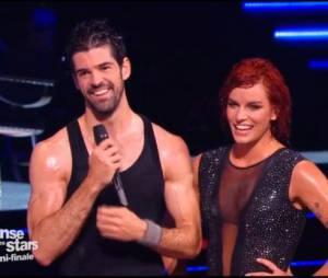 Danse avec les Stars 5 : Miguel Angel Munoz et Fauve Hautot lors de la demi-finale du samedi 22 novembre 2014