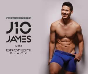 James Rodriguez devient la nouvelle égérie des sous-vêtements Bronzini