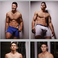 James Rodriguez égérie d'une ligne de boxers : plus sexy que CR7 ?