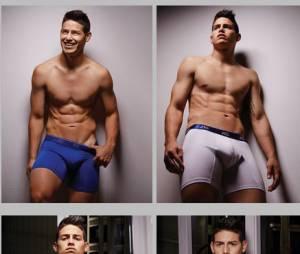 James Rodriguez sexy pour la ligne de sous-vêtements de Bronzini
