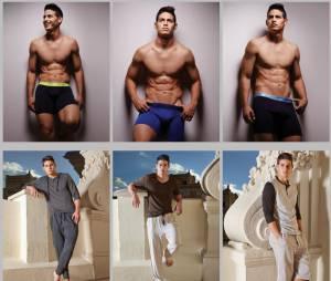 James Rodriguez : torse nu pour la ligne de sous-vêtements de Bronzini