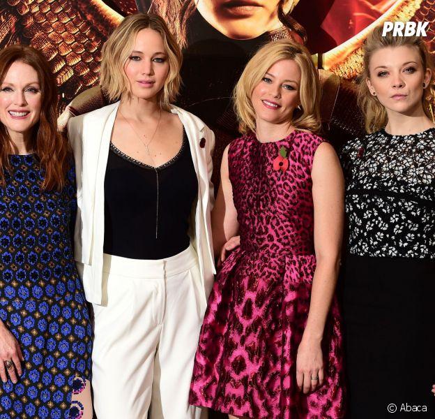 Jennifer Lawrence : Nathalie Dormer (à droite) choquée par le scandale des photos nues des stars