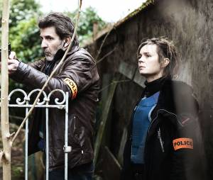Engrenages saison 5 : Caroline Proust et Fred Bianconi