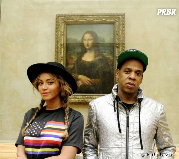 Beyoncé, Jay-Z et la Joconde au Musée du Louvre